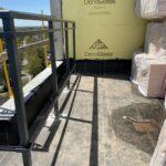 new aluminum railing for a roof top k