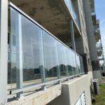 glass railing in barrie
