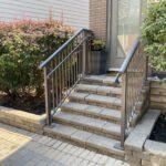 aluminum stair railing in toronto