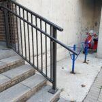 aluminum stair railing downtown toronto