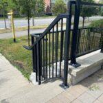 stair railing in Mississauga