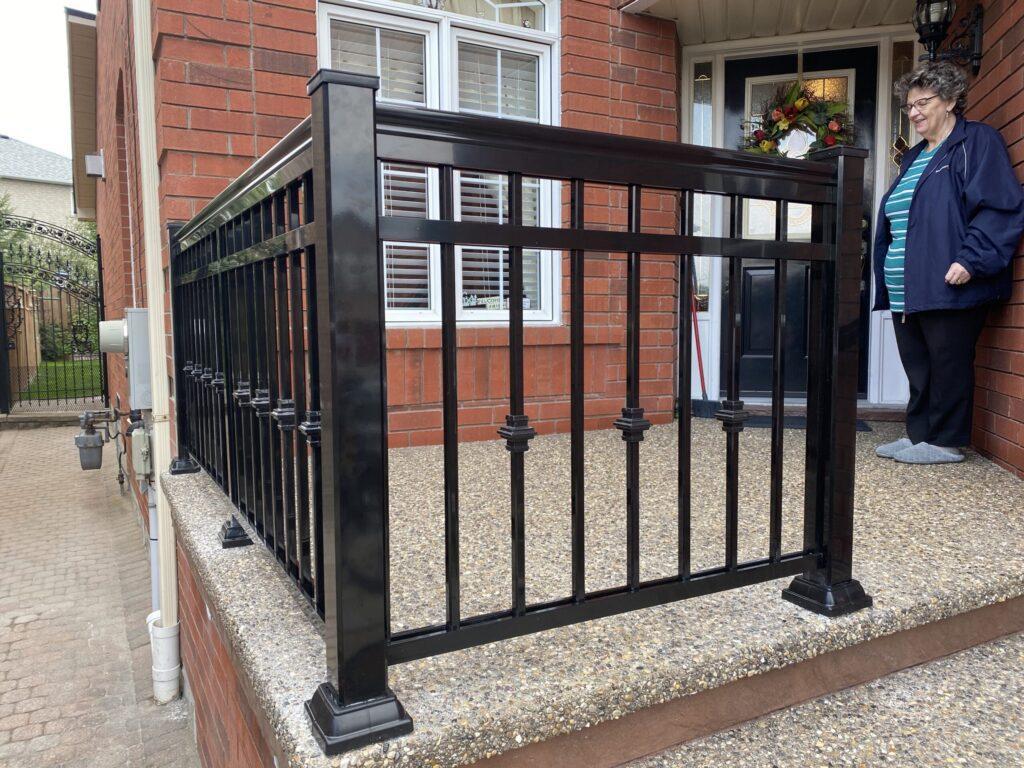 front porch railing brampton